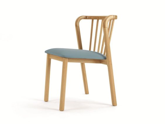 Stackable wooden chair BERTIE by And Then Design