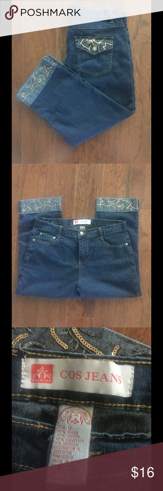 COS Jean capris size 12❎CLERANCE! See pix COS Jeans Ankle & Cropped