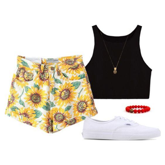Sunflower Shorts Way #1