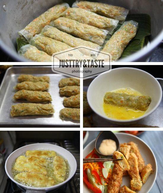 Resep Homemade Kani Roll Jtt Resep Dada Ayam Resep Masakan Korea Resep Masakan