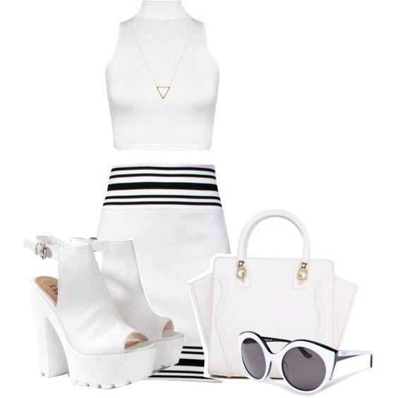 Untitled #306 by gidaltine on Polyvore featuring polyvore, fashion, style, Balmain, Glamorous, Wanderlust + Co and Moschino