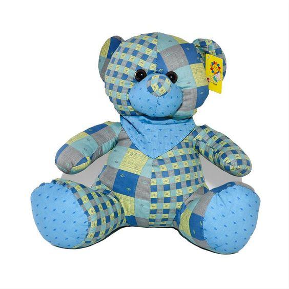 Urso de Pano - Fofy Toys http://www.micoleaoshop.com.br/p/01577/Urso+de+Pano+-+Fofy+Toys