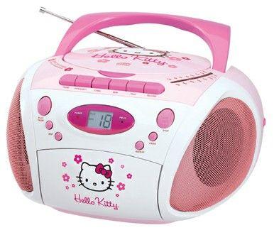 Radio stereo portatile Hello Kitty