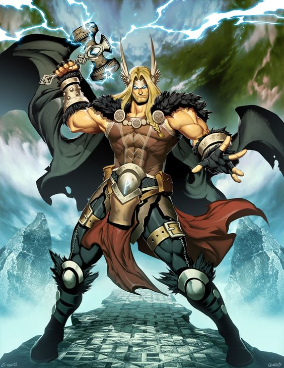 Thor by GENZOMAN on @DeviantArt
