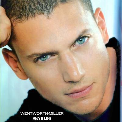 Wentworth Miller with his beautiful eyes. :)