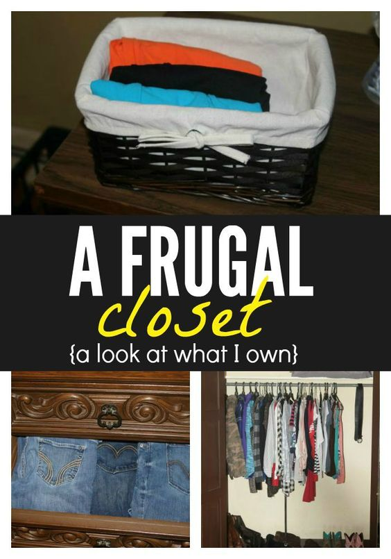 Looking to create your own frugal closet? Here's a look at everything I own and how I am able to keep my closet clean, organized, and most of all - frugal! http://singlemomsincome.com/a-frugal-closet-a-look-at-what-i-own/