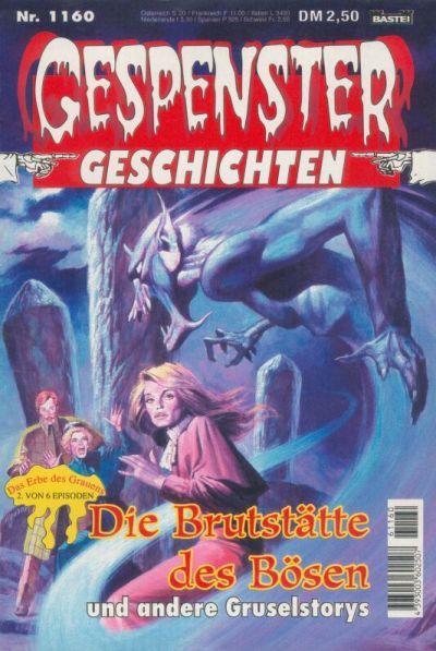 Cover for Gespenster Geschichten (Bastei Verlag, 1974 series) #1160