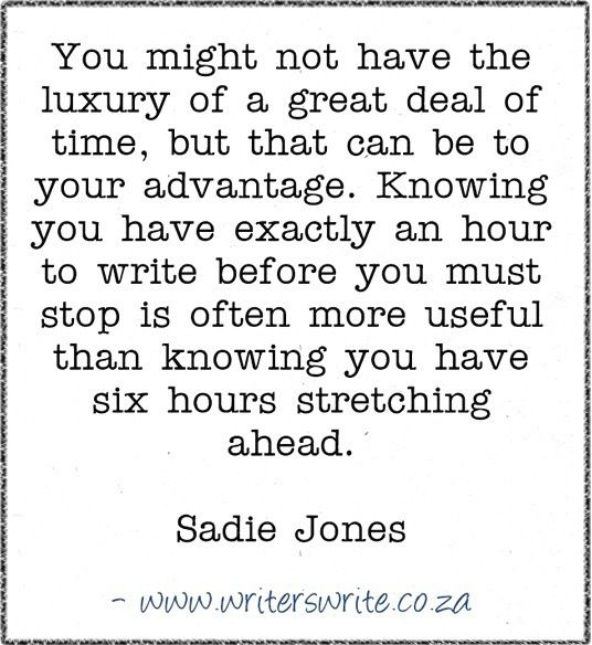 Quotable - Sadie Jones - Writers Write