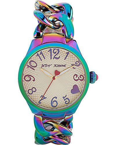 iridescent watch betsey johnson | CHECK OUT MY FASHION BLOG>>> fashionsheriffjennbee.blogspot.com/ and follow me @jennbee22