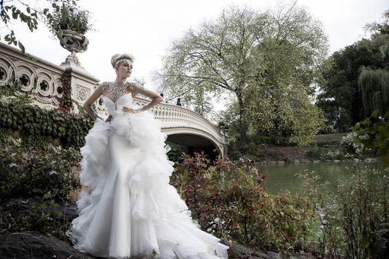 Свадебные платья Pnina Tornai 2014
