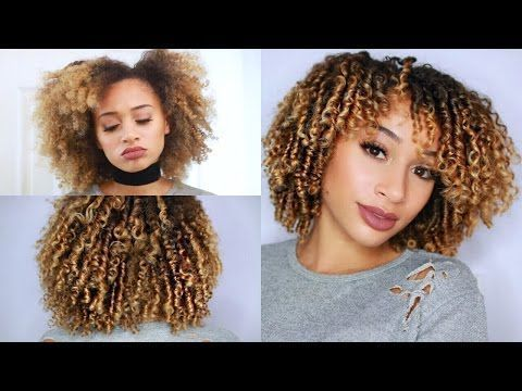 How To Define Style Your Curly Hair Finger Coiling Method Video Black Coiling Natural Hair Natural Hair Styles Finger Coils Natural Hair