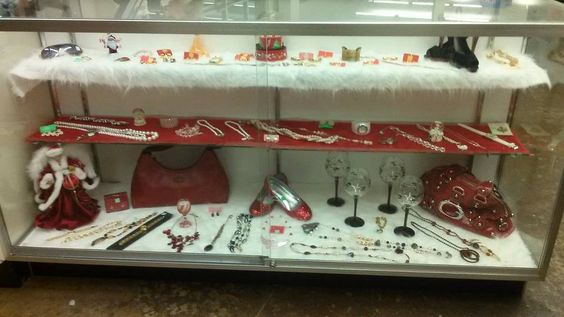 Holiday themed options for decor, accessories and shoes found at our Brentwood location.