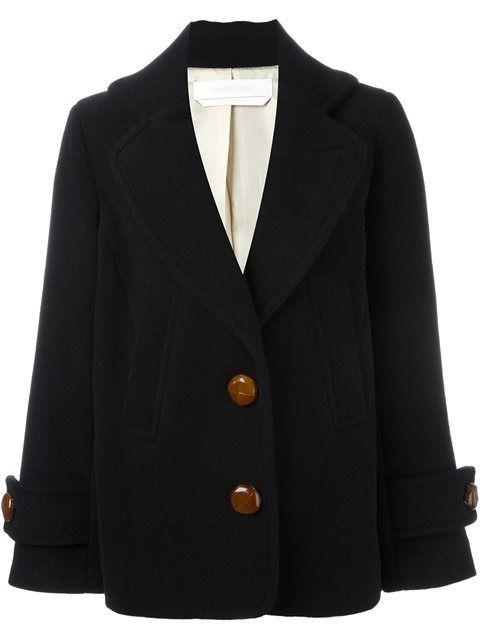See By Chloé short boxy coat