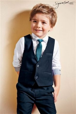 Buy Signature Navy And Teal Waistcoat Set (3mths-6yrs) from the Next UK online shop
