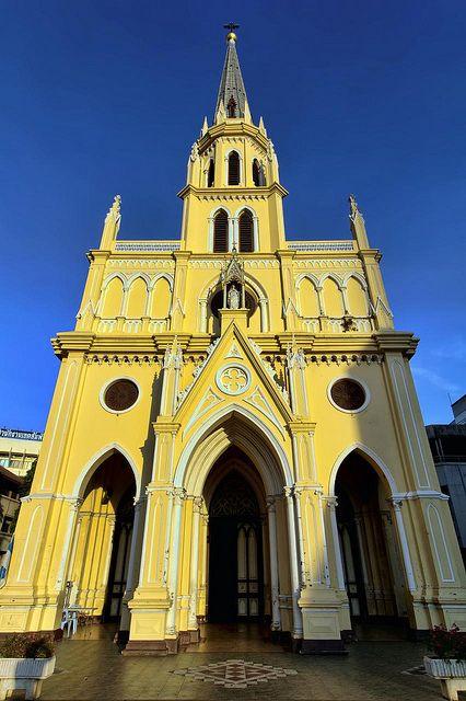 Holy Rosary (Kalawar) Church   Bangkok   Flickr - Photo Sharing!