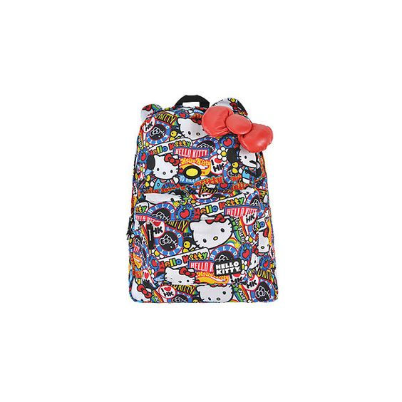 Hello Kitty Ears backpack – Hello Kitty merchandise – funky bags UK ($47) ❤ liked on Polyvore