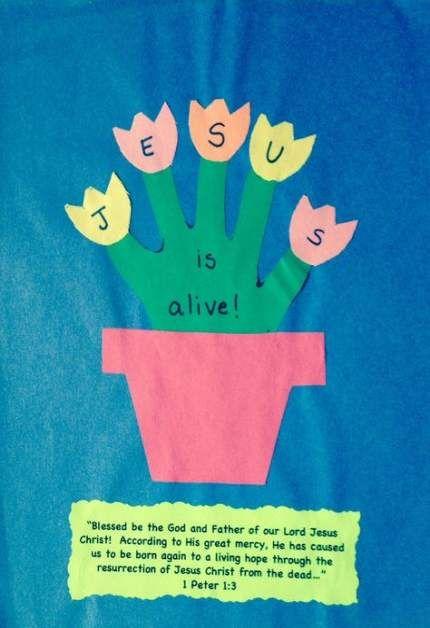 New craft preschool easter jesus Ideas #craft