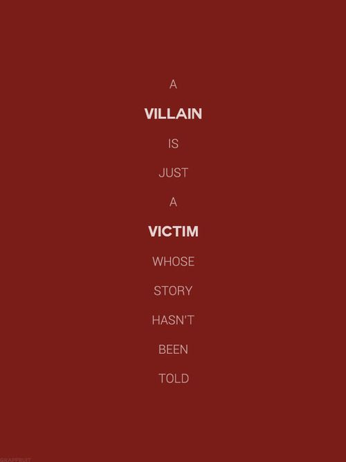villain hero or victim Public administration theory andpractice the images of villain, hero and innocent  victims emanating from the theater metaphor are troublesome and deserve.