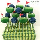 How to Make Golf Cake Pops ~ Pint Sized Baker
