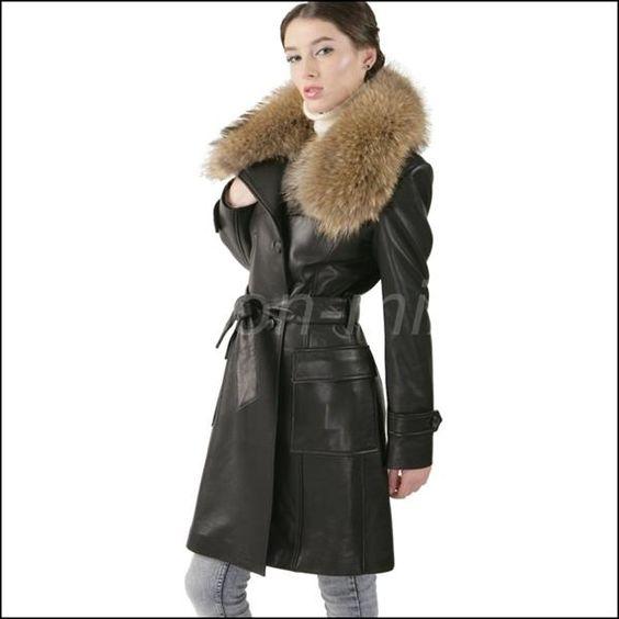 Выкройки кожаных пальто