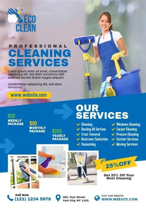 Cleaning Services Cleaning Service Flyer Cleaning Services Company Commercial Cleaning Services