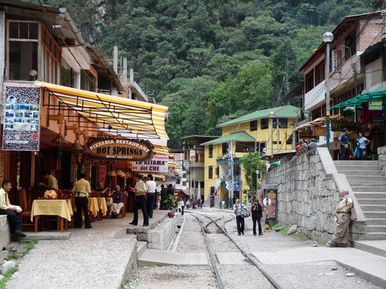 Aguas Calientes, Peru, voted one of the 13 best small towns in South America.