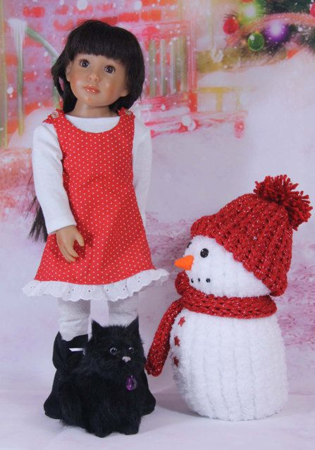 Basic Jumper Slim 18 inch dolls by windwoman21 on Etsy