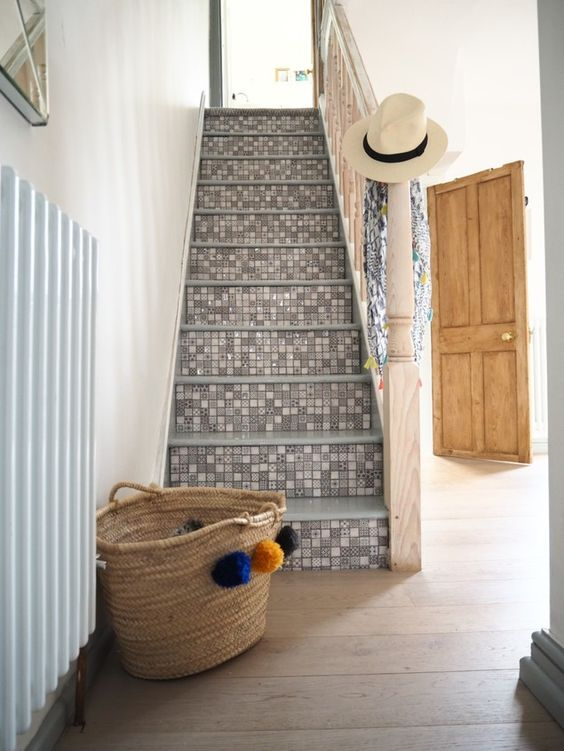 My First DIY Vlog a year! How to tile your stairs - WeLoveHomeBlog