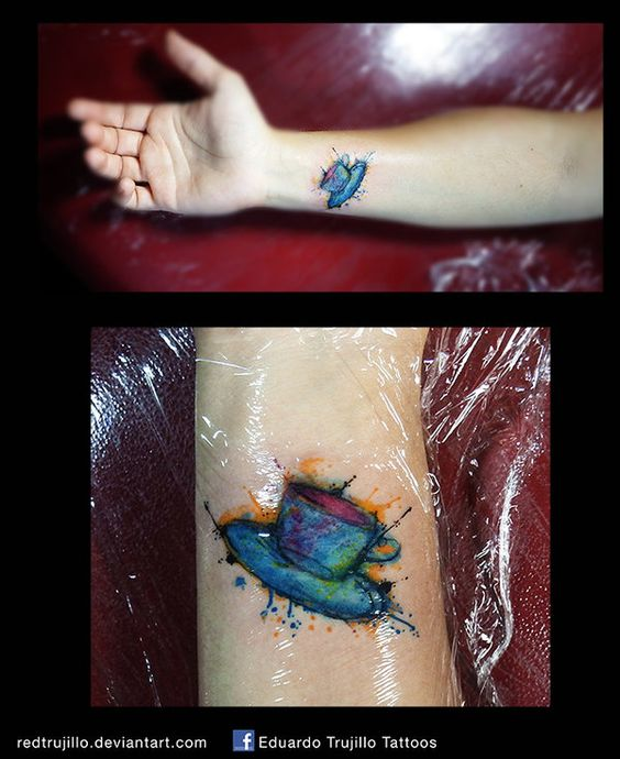 Book Cover Watercolor Tattoos : Coffee cup tattoo google search ink me pinterest