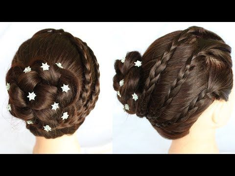 New Amazing Bridal Bun Hair Style Wedding Hairstyles Wedding Juda Hairstyle Juda Hair Womens Hairstyles Short Hairstyles For Women Natural Hair Braids