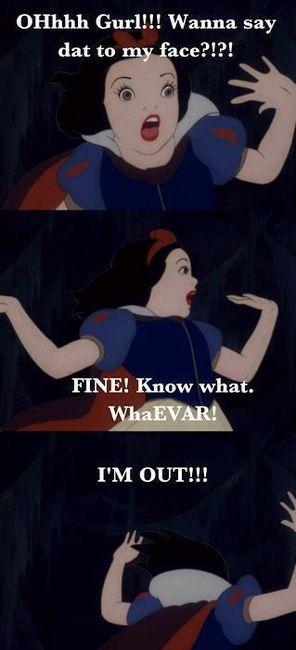 WhaEVAR! Ghetto Snow White!  - popculturez.com