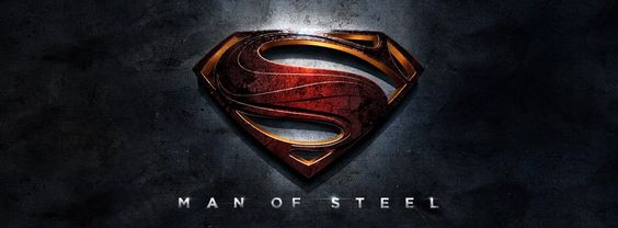 The new man of steel logo from Warner Bros.