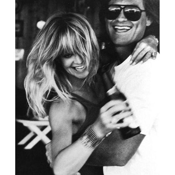 Goldie Hawn and Kurt Russel by Herb Ritts, Dutch Harper's Bazaar April 1990