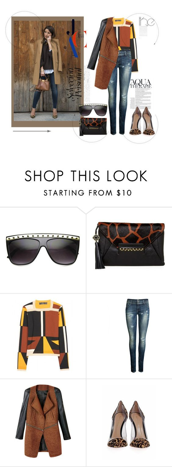 """""""Bloggers"""" by suzieq-suzieq ❤ liked on Polyvore featuring Rafé New York, Anja, Proenza Schouler, ONLY and Gianvito Rossi"""