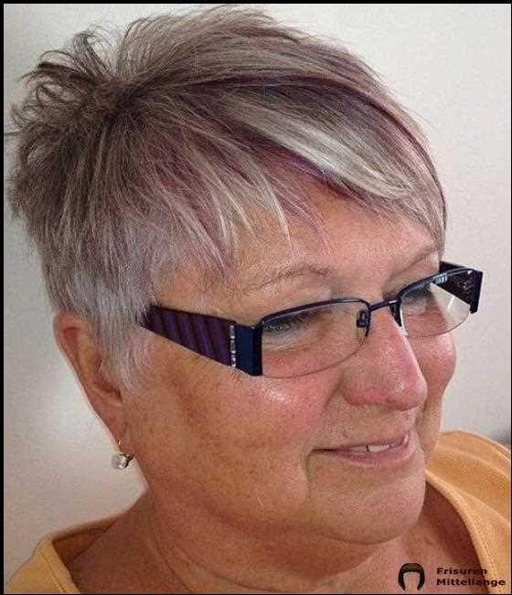 Flotte Kurzhaarfrisuren Fur Altere Damen Haarschnitt Kurz Kurzhaarfrisuren Frisuren Kurze Haare Brille