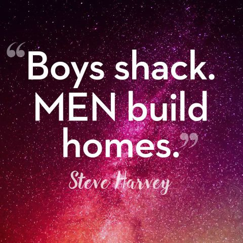 Steve Harvey Quotes -Dating Advice- Get some more Stev-spo at redbookmag.com.: