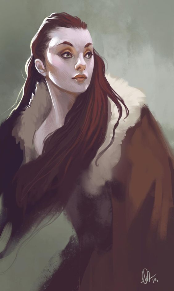 Livestream 8 Picture  (2d, fantasy, girl, woman, portrait, red hair)