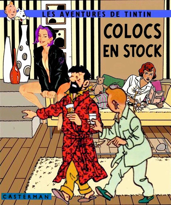 Tintin Colocs en stock: