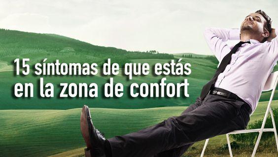 M 15 síntomas de que estás en la zona de confort