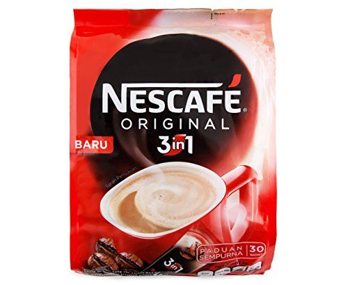 Nescafe 3 In 1 Original Soluble Coffee Beverage 30 Sachets Bag