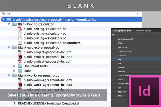 Project Proposal Template Bundle by Bootstrap Creative on Creative - product pricing calculator