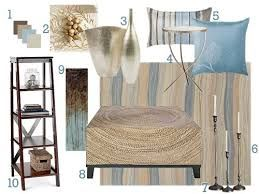 living room decorating blue and cream - Google Search