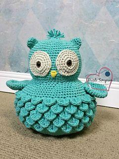Ollie Owl Crochet Pattern