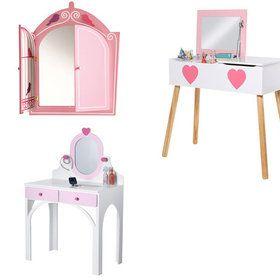 Muebles para dormitorio de niña, de Vertbaudet