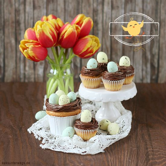 Easter cupcakes + + + + + + keksunterwegs.de
