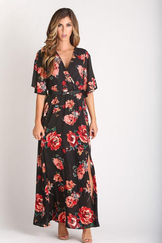 style maxi dress fall pics
