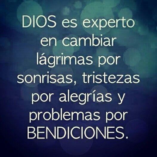 Dios si sabe lo que hace! ;)