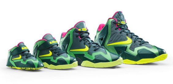 """Nike LeBron 11 """"T-Rex"""""""
