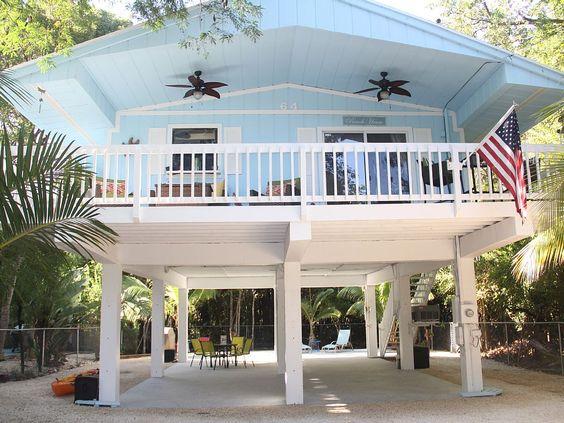 Florida keys stilt homes google search stilt homes for Stilt house foundation