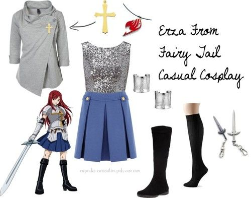 how to make fairy tail costumes at home
